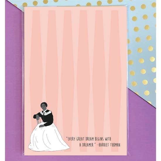 Harriet Tubman Notepad, Card Bureau
