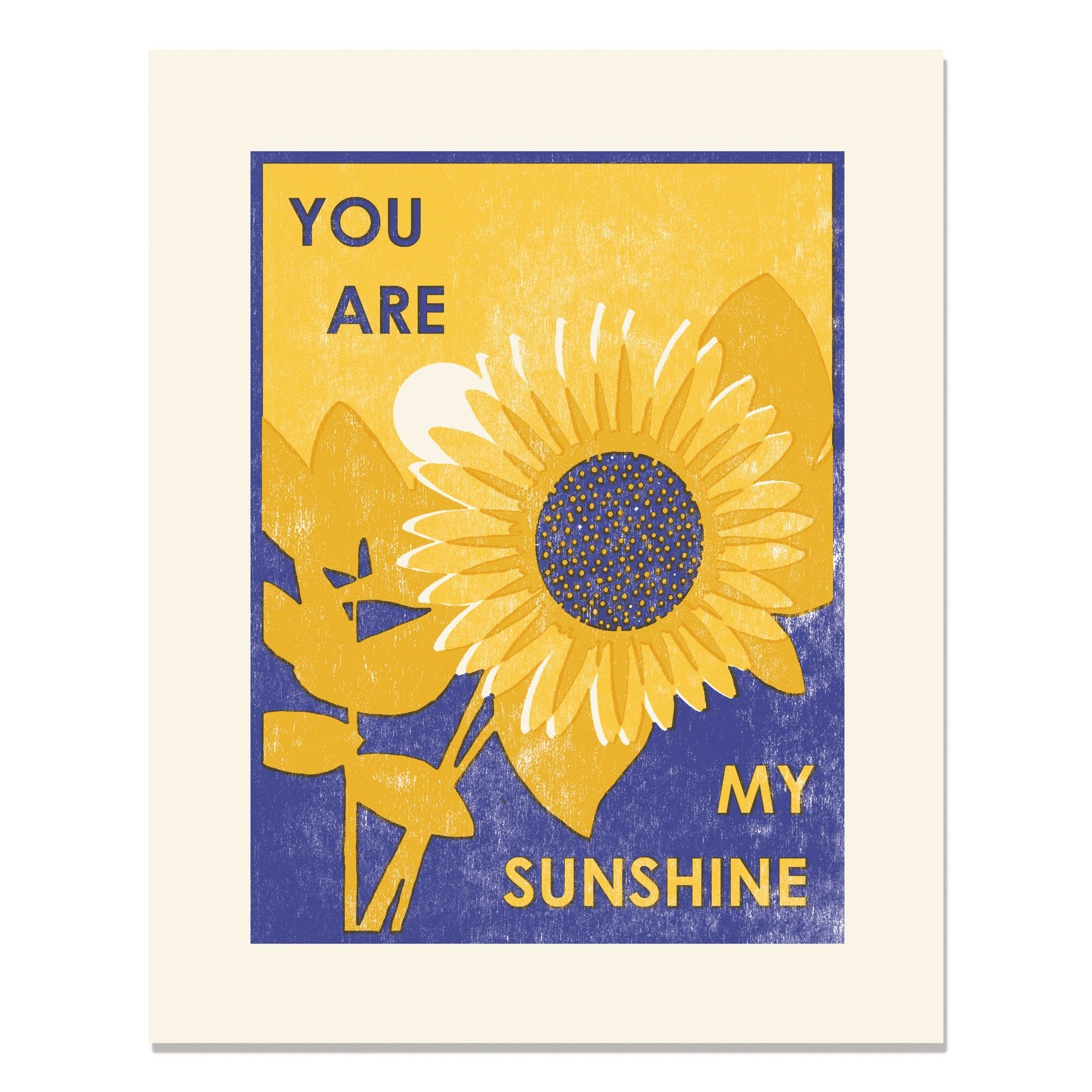 My Sunshine Print 8x10, Heartell Press