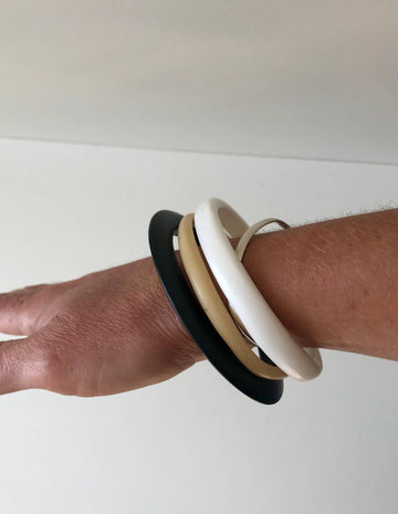 Resin Bangle Stack