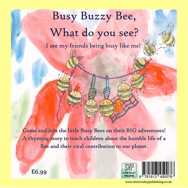 Busy Buzzy Bee by Stacy Bax