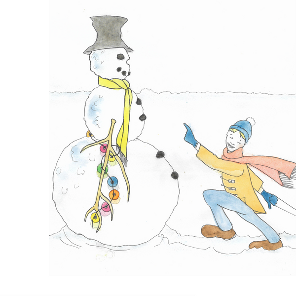Bertie Bird and the Chilly Little Snowman (PRE-ORDER) by Stacy Bax and Anita King