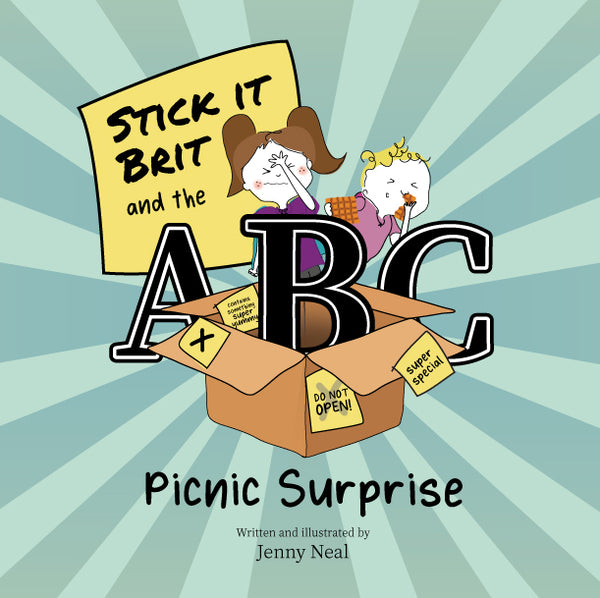 Stick It Brit and the ABC Picnic Surprise by Jenny Neal - PRE-ORDER