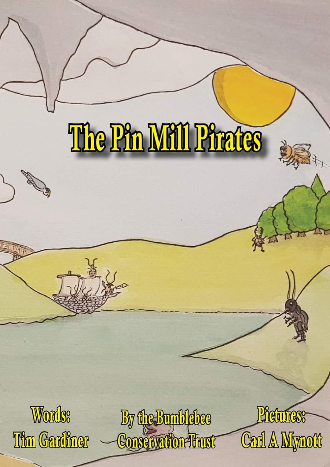 The Pin Mill Pirates by Tim Gardiner