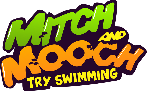 Mitch and Mooch Try Swimming - by Jan Foster