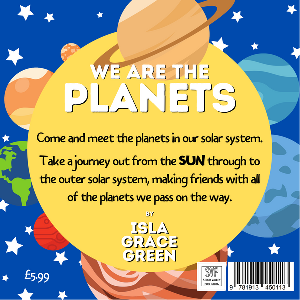 We Are The Planets by Isla Grace Green