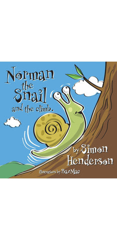 Norman the Snail and the Big Climb.