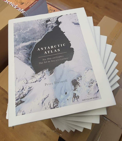 SIGNED COPIES!! Antarctic Atlas by Peter Fretwell