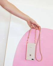 Load image into Gallery viewer, Phone case with recycled beige cord