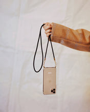 Load image into Gallery viewer, Phone case with recycled black cord