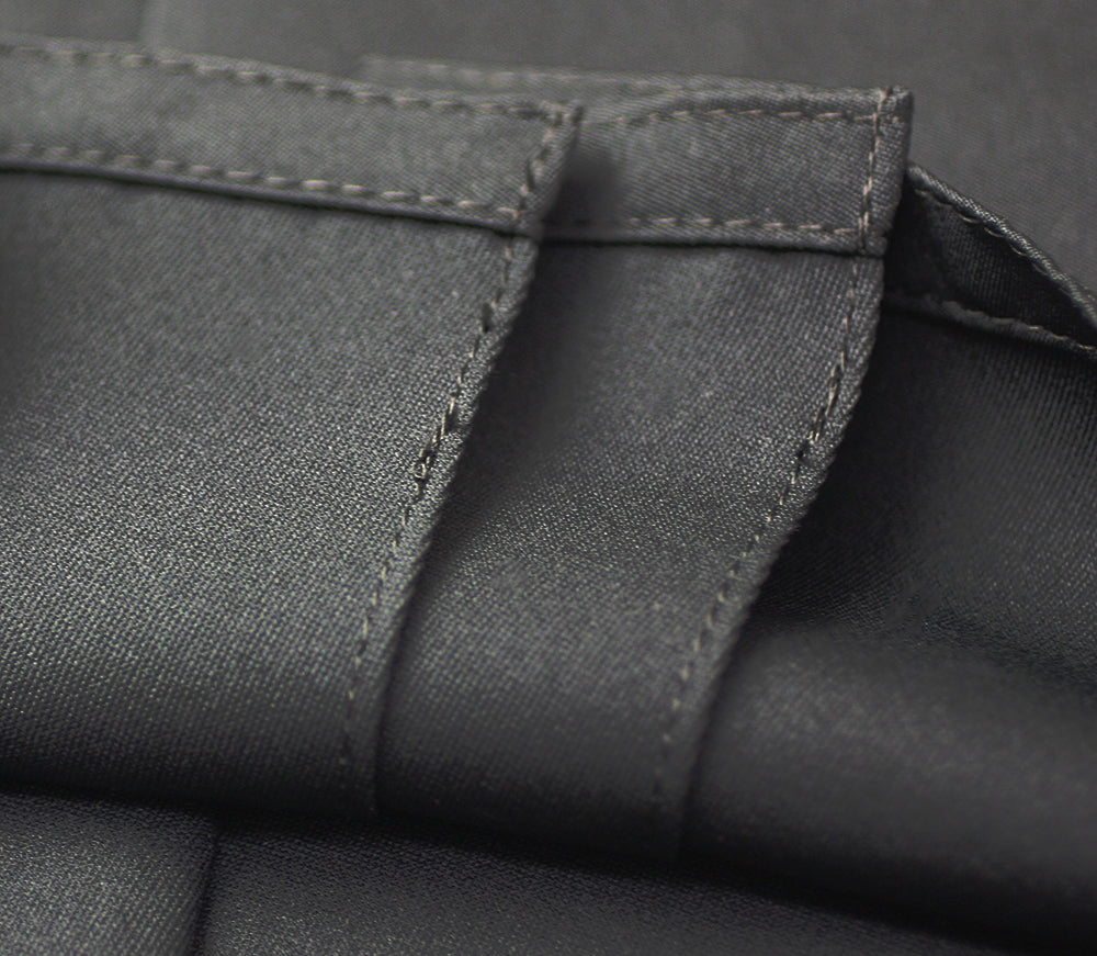 Inner-stitched pleats of Deluxe Polyester Aikido Hakama