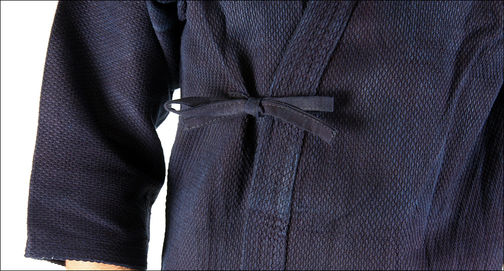 image of correct tying