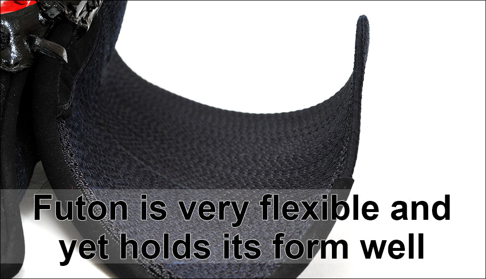 Futon is very flexible and yet holds its form well