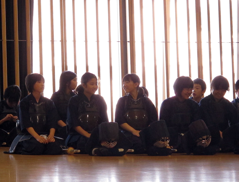 Ambitious Kendo girls in Iwate prefecture