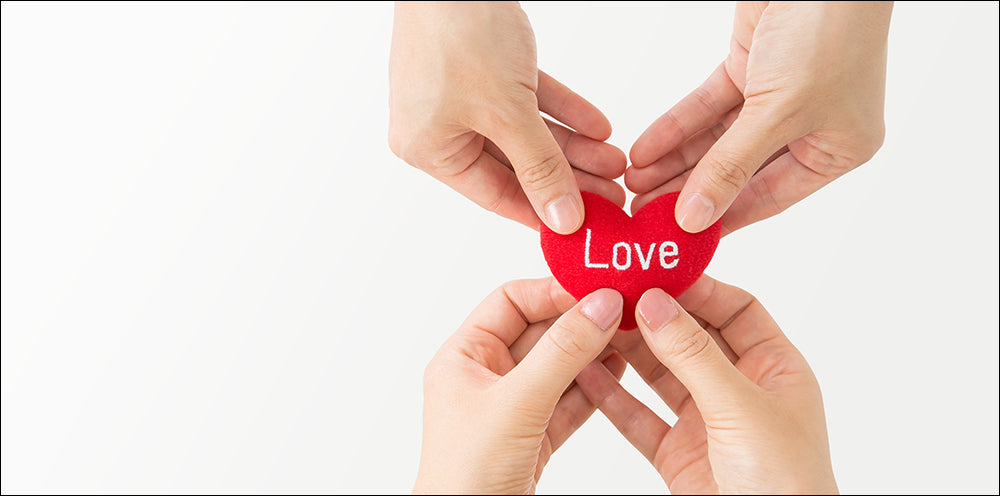 Love from hand to hand