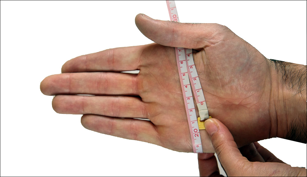 How to measure your around-the-palm