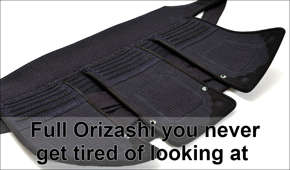 You never get tired of looking at this full Orizashi feature