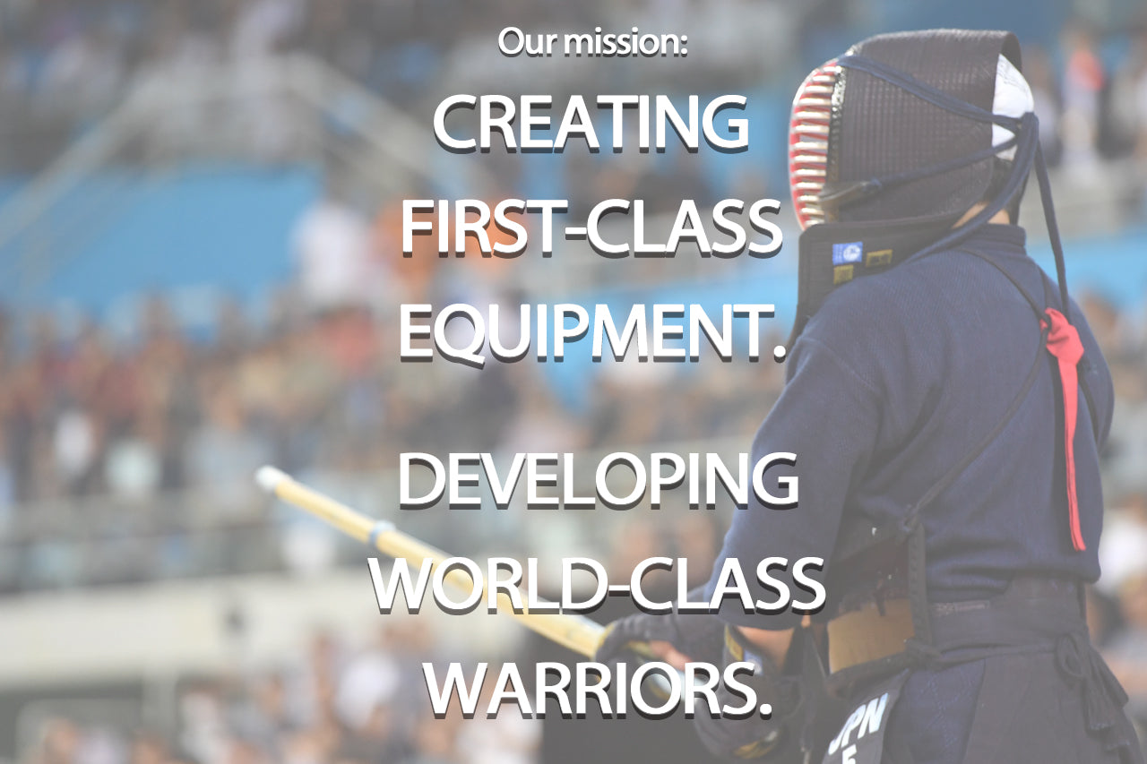 Tozando's Mission: Creating First-Class Equipment. Depelopping World-Class Warriors.