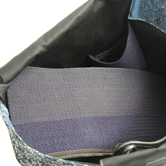 View of bogu inside the custom bogu bag.