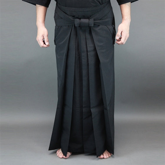 Full length view of the hakama when worn.