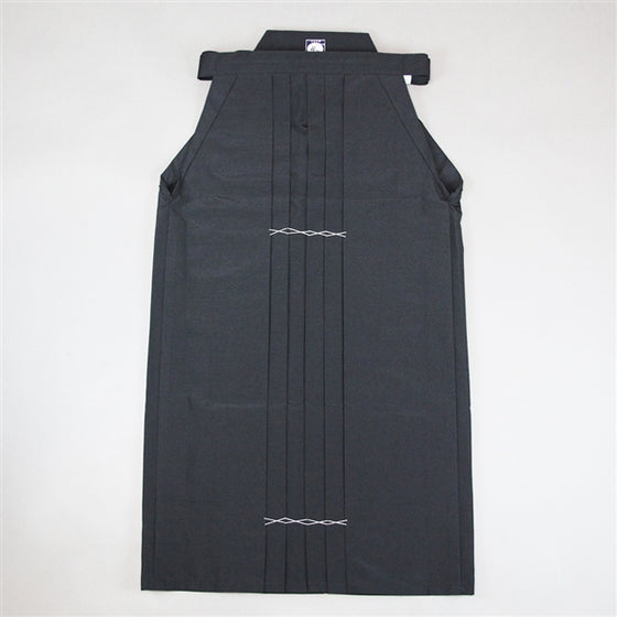 Full length view of the black version of the hakama.