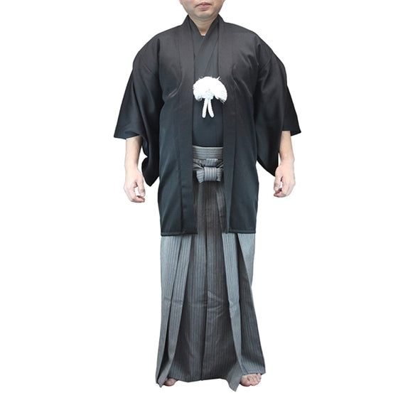 Front full length view of the haori when worn.