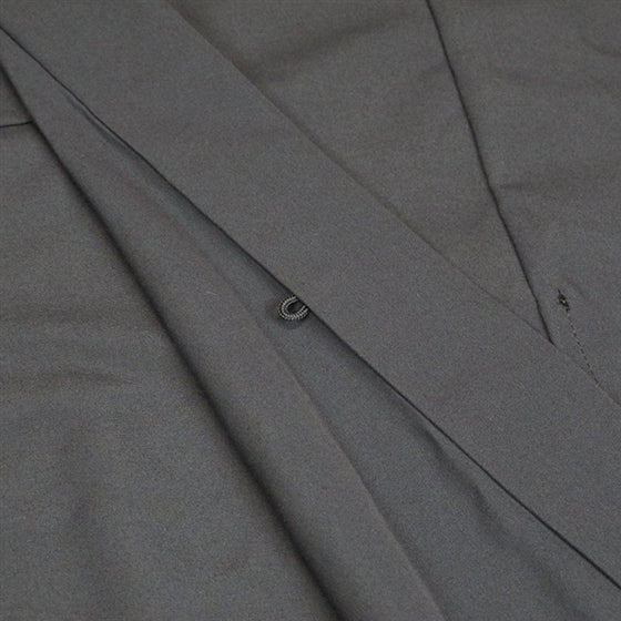 Close-up of the haori hem and fabric.
