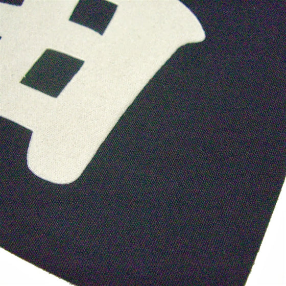 Kendo Zekken heat press close up.