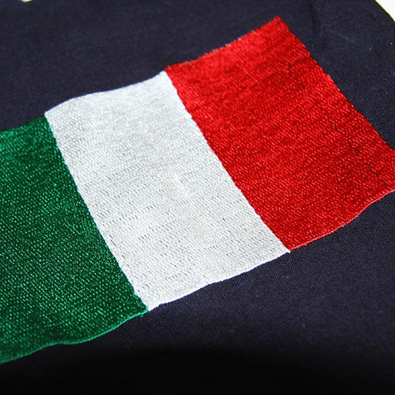 Kendo Zekken Flag Embroidery detail.