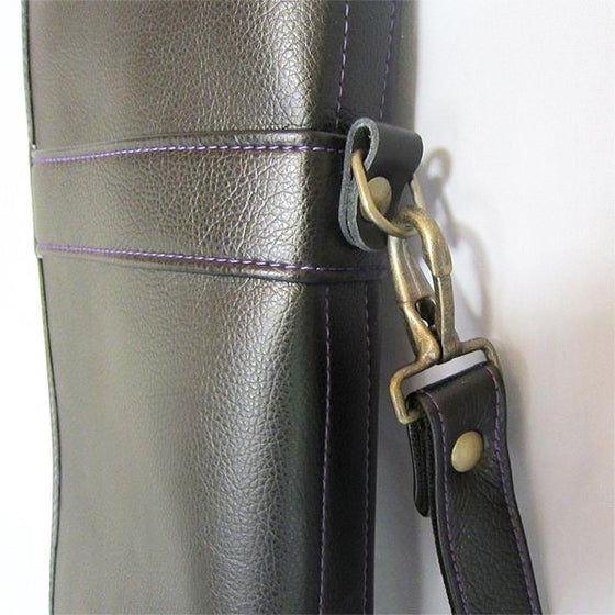 Close-up of the strap attachments.