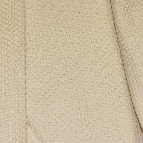 unbleached single-layer kendo gi inner fabric close-up