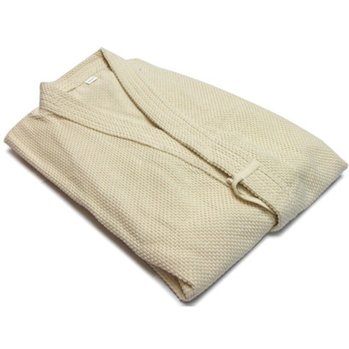 unbleached single-layer kendo gi folded view