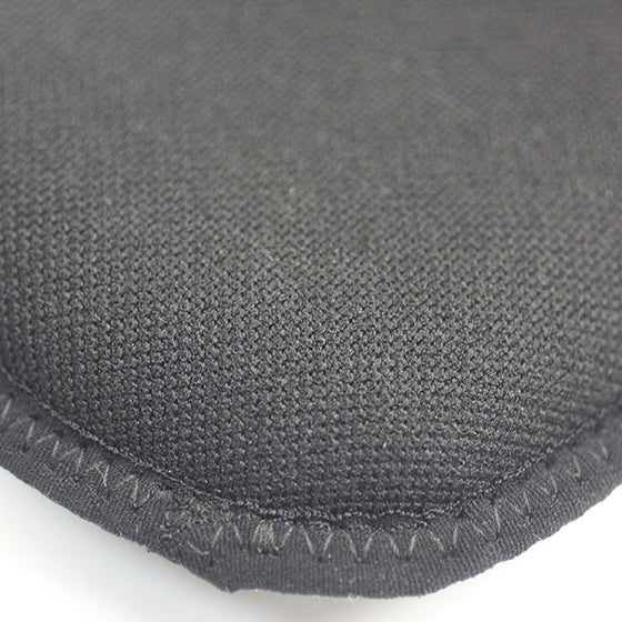 Close-up of the padding material.
