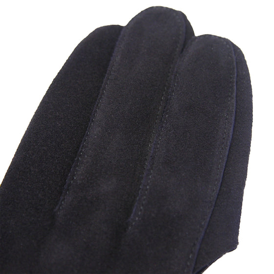 Deluxe Deerskin Jukendo Shino Right Hand Glove navy 2
