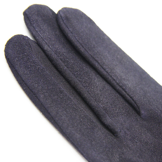 Deluxe Deerskin Jukendo Shino Right Hand Glove navy 3
