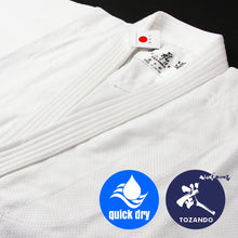 Suzuka lightweight summer cotton Aikido Gi hem