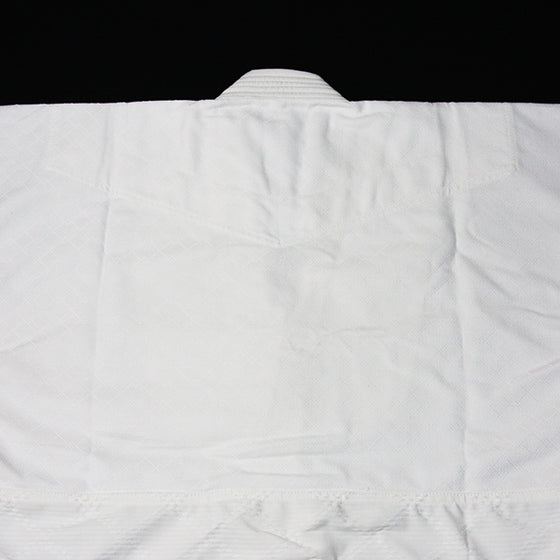 Hourai Lightweight Anti-Bacterial Aikido Gi back view detail
