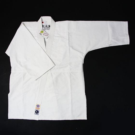 Hourai Lightweight Anti-Bacterial Aikido Gi front view