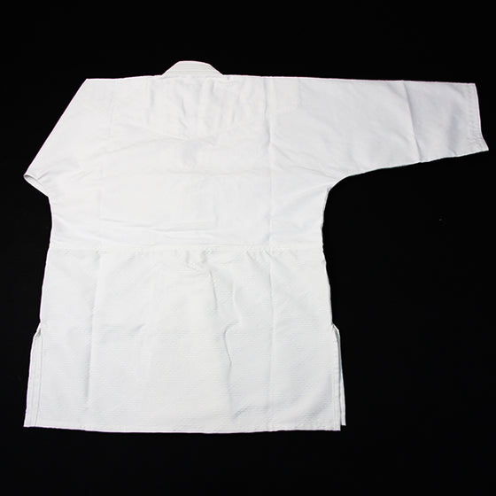Hourai Lightweight Anti-Bacterial Aikido Gi back view