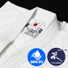 Hourai Lightweight Anti-Bacterial Aikido Gi hem