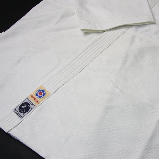Hourai Lightweight Anti-Bacterial Aikido Gi border tail