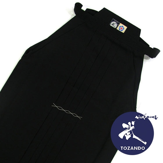 Deluxe Cotton Aikido Hakama TAKE upper view