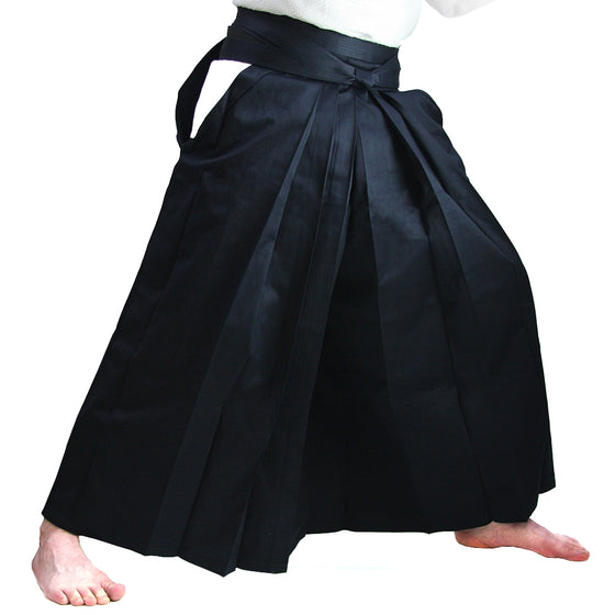 Deluxe Cotton Aikido Hakama TAKE side