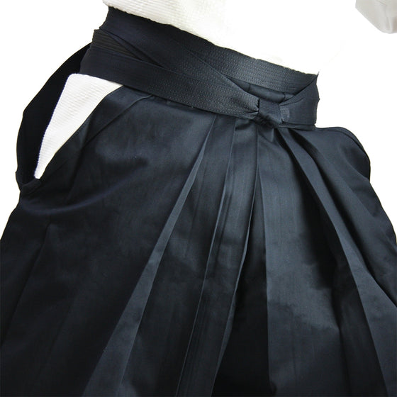 Deluxe Cotton Aikido Hakama TAKE upper view side