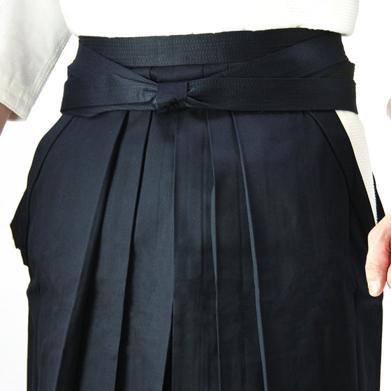 Deluxe Cotton Aikido Hakama TAKE upper view 2