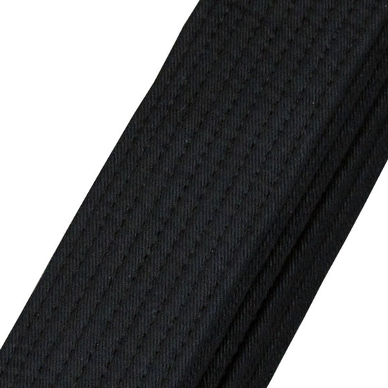 Aikido Obi Black Belt detail