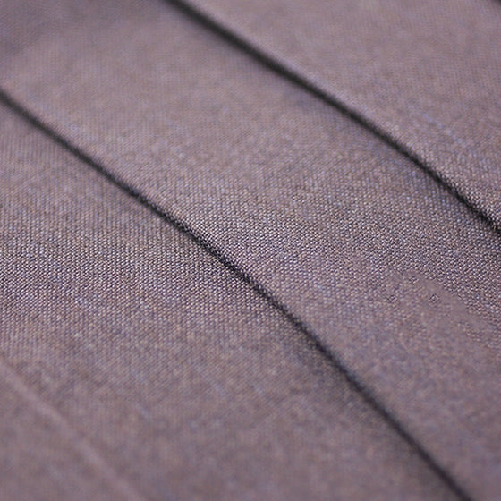 Pleats and fabric close-up.