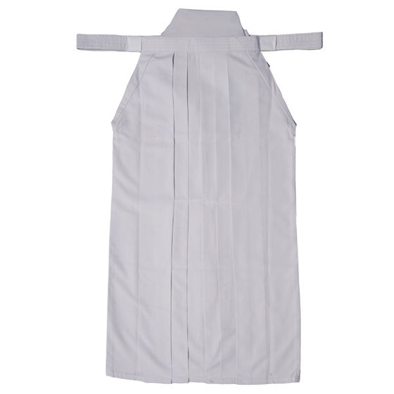 Full view of white hakama.