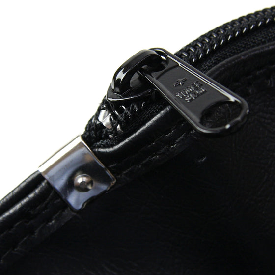 Close-in view of the zip.