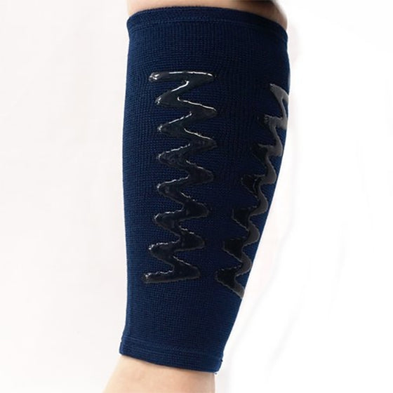 Full view of the calf protector.