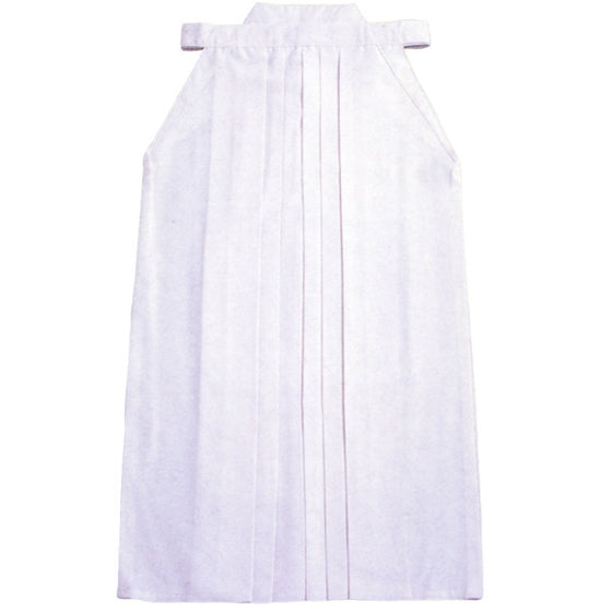 Full length view of the white version of the hakama.